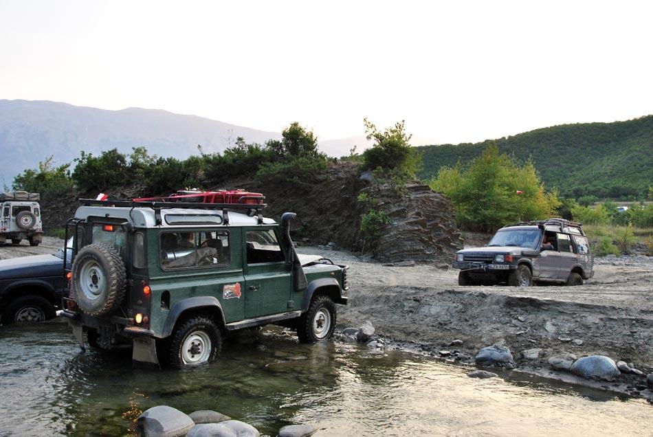 Wyprawa Landroverem do Albanii